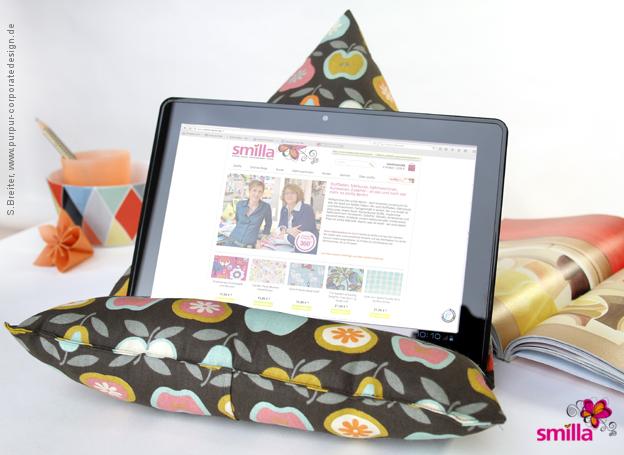 Kissen Für Tablet bequeme sache, das tablet-kissen!   smillablog