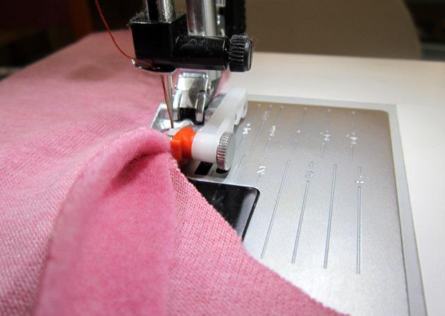 Jersey und Stretch mit der Nähmaschine verarbeite -> Nähmaschine Jersey