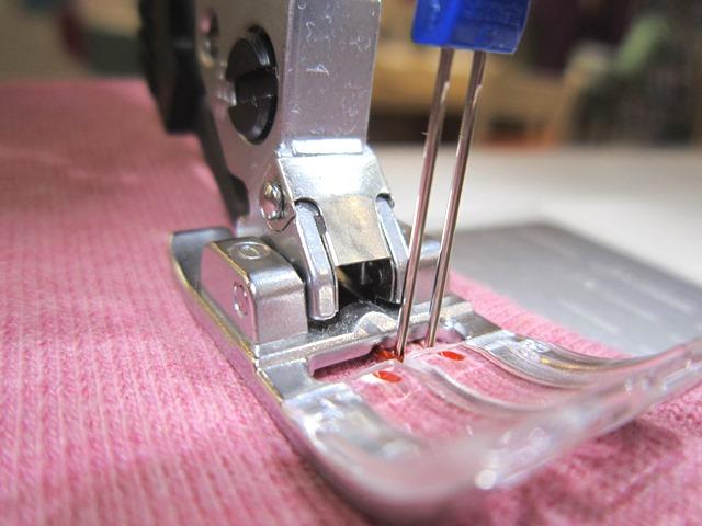 Jersey und Stretch mit der Nähmaschine verarbeiten  -> Nähmaschine Jersey
