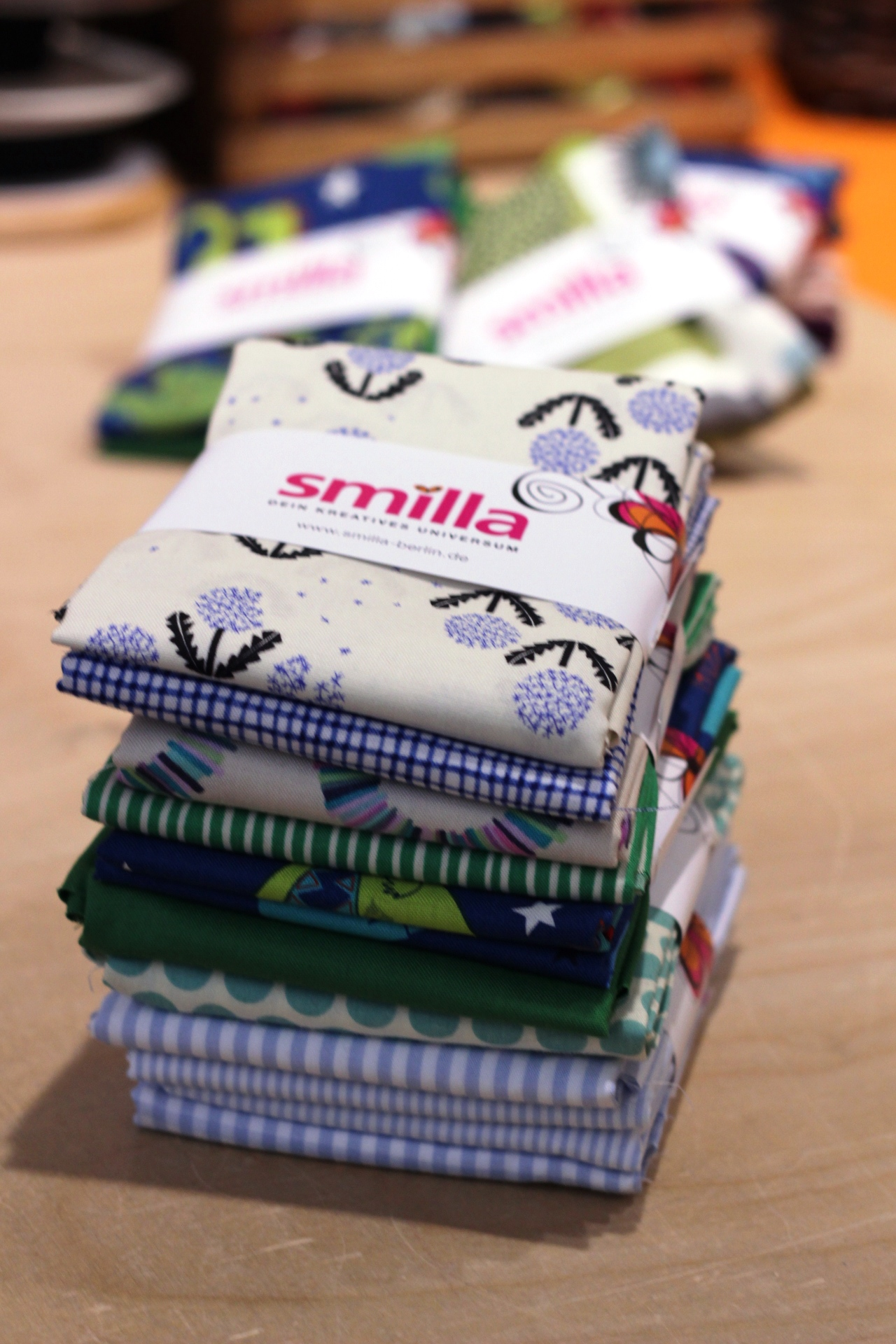Fat quarter collection smilla