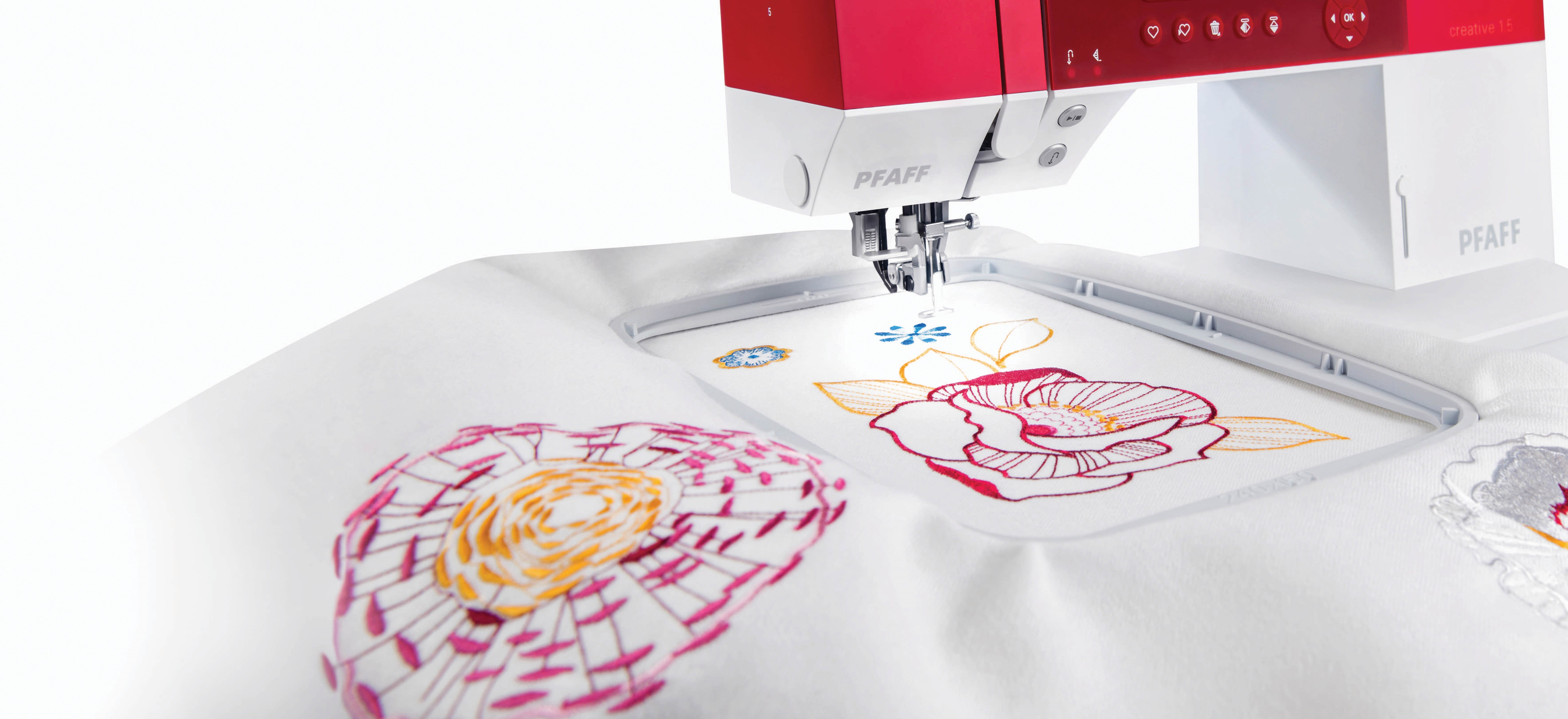 Machine and Embroideries