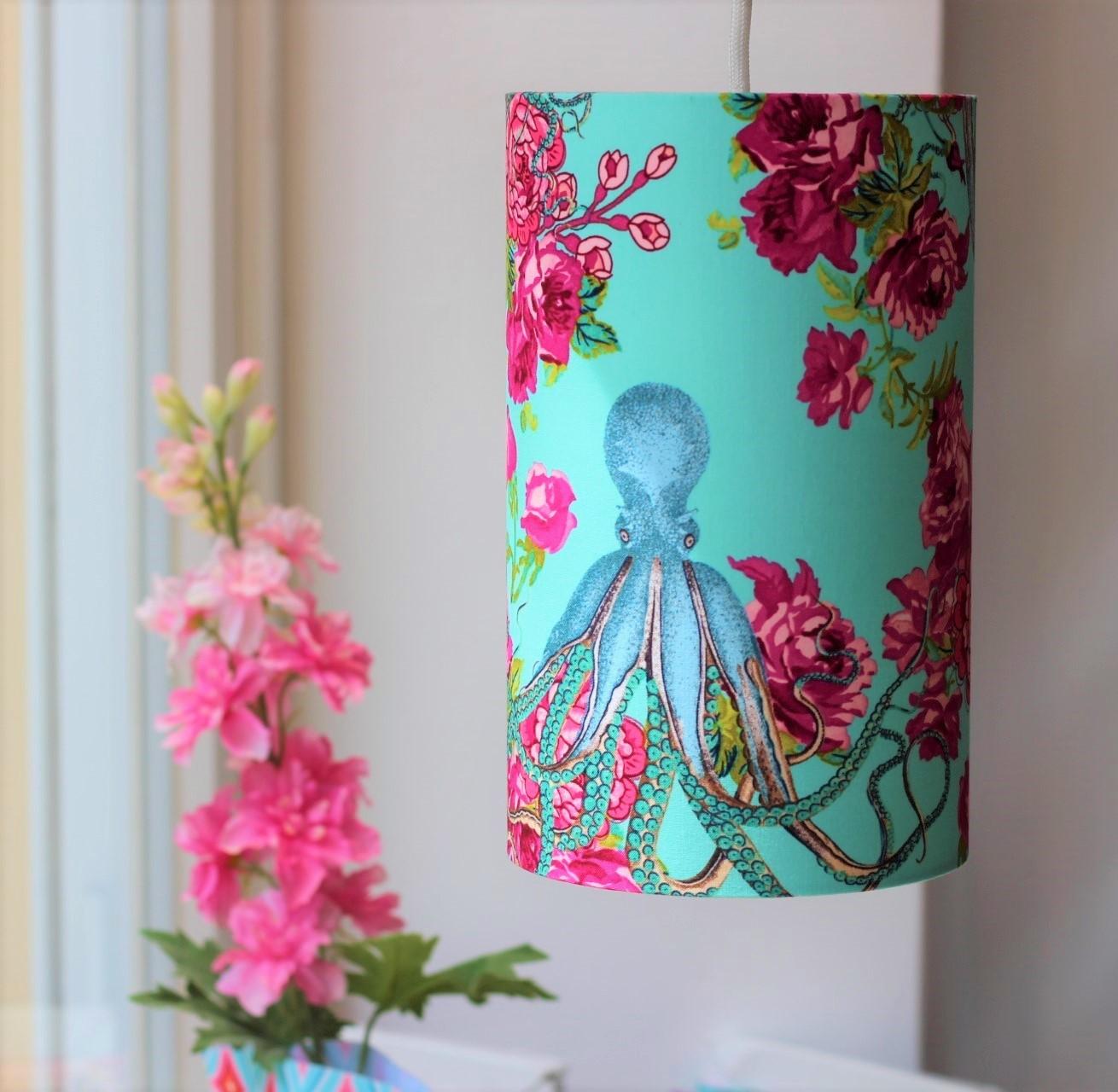 Lampenschirm aus meinem Wunschstoff